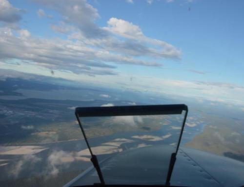 31. und 32. Flugetappe nach Goose Bay via Quebec